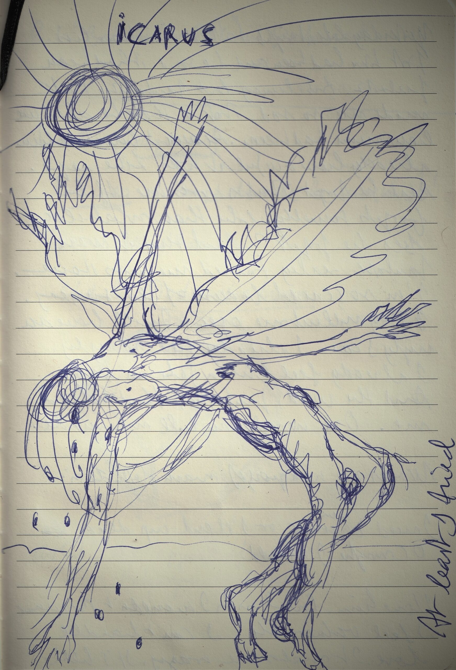 Icarus vignette